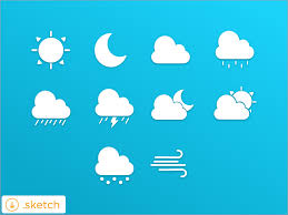 weather apps free android weather icon set for sketch app sketch freebie free