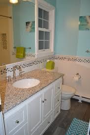 bright beachy modern kids u0027 bathroom