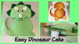 dinosaur cake easy triceratops dinosaur birthday cake