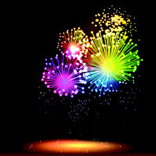 colorful fireworks design vector set 03 u2013 over millions vectors