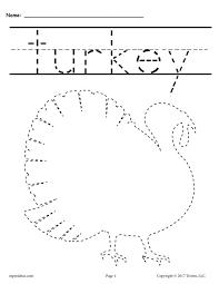 8 free printable thanksgiving tracing worksheets u0026 handwriting