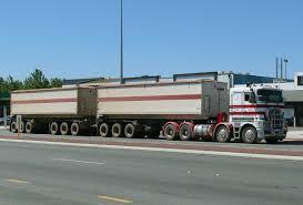 volvo trucks australia road trains of australia