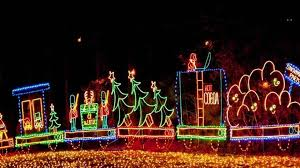 holiday lights on the river features new grandma got run over by a