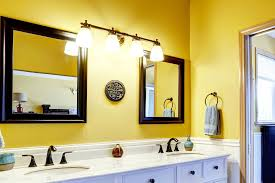 yellow bathroom pictures home