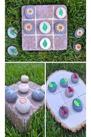 easy spring crafts for kids to make summer crafts tic tac toe