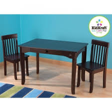 Kidkraft Outdoor Table And Chair Set Avalon Table And Chair Set Espresso