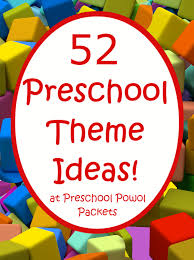 theme ideas 52 preschool themes free 2016 2017 preschool theme calendar