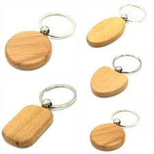 wooden keychains customized blank wooden keychains personalized keychain