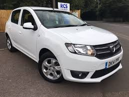 used dacia sandero petrol for sale motors co uk