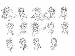 drawing elsa snow queen spartandragon12 deviantart