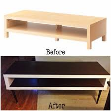 diy ikea hack lack tv stand to mid century inspired humble