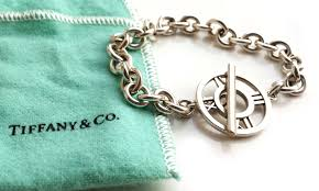 tiffany bracelet review images Tiffany co 7 inch sterling silver atlas toggle bracelet with jpg