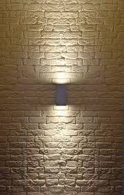 Outdoor Wall Sconce Modern Big Theo Up Down Exterior Wall Sconce By Slv Lighting 229574u