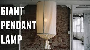 Oversized Pendant Light Diy Oversized Pendant L Hgtv