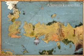 Labeled Map Of The World by Map A Song Of Ice And Fire Labeled By Sjefke 04 On Deviantart