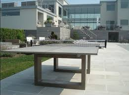 concrete patio dining table if it s hip it s here archives modern concrete steel ping pong