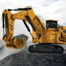 large boom excavator crawler mining and quarrying diesel