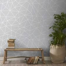 Bedroom Accent Wall With Snazzy Penny Tiles Decoist by 25 Best Geometric Wall Images On Pinterest Walls At Home And Black