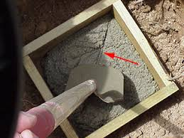 porch or deck foundation how to build a concrete footing for a
