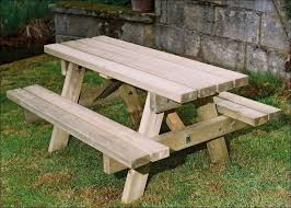 exteriors how to make a picnic bench picnic table bench wood