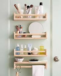shelf liners ikea ikea bekvm spice rack saves space on smart space saving bathroom storage ideas martha stewart