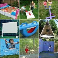 Building A Backyard Playground by Absolutely Fabulous Outdoor Play Equipment That Parents Can Make