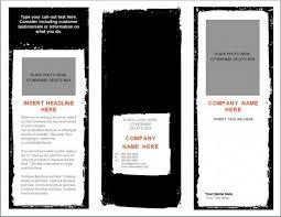 100 microsoft word tri fold template 4 fold brochure