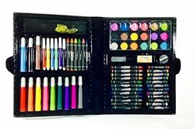 art materials and craft drawing set 80 piece kit plus kids