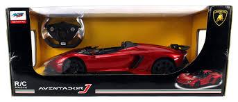 lamborghini aventador j amazon com licensed lamborghini aventador j roadster limited