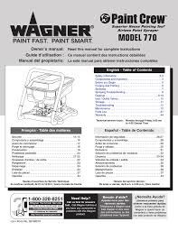 wagner paint crew owner s manual
