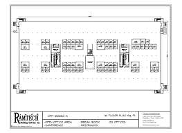 permanent and relocatable commercial modular construction floor plans