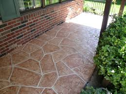 Concrete Patio Resurfacing by Decorative Resurfacing Of Existing Concrete