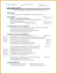academic resume exles education for resume exles elementary new sle