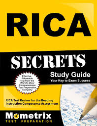 rica secrets study guide rica test review for the reading