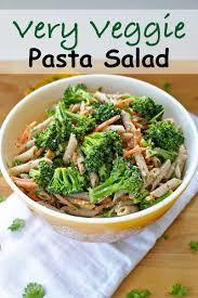 Pasta Salad Recipies by Very Veggie Pasta Salad Becky U0027s Best Bites