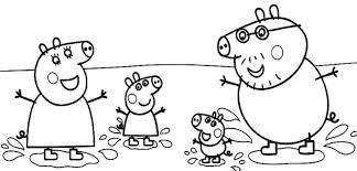 elegant peppa pig coloring pertaining inspire coloring