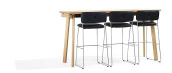Oak Bar Table Contemporary High Bar Table Oak Solid Wood Ash Size By