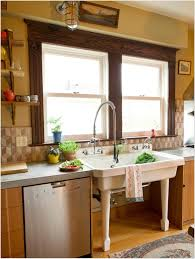Cuisine Shabby Chic Kitchen Small Galley With Island Floor Plans Popular In Spaces