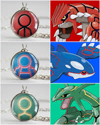 Primal Sign Necklaces For The Big Three Of Gen Iii Groudon Kyogre And