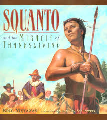 squanto the indian vital to thanksgiving story parallels joseph