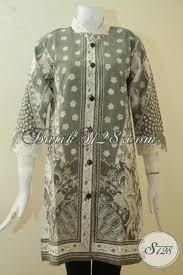 desain baju batik halus baju blus halus warna alam proses kombinasi tulis pakaian batik
