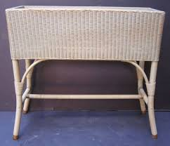 english wicker garden planter by lloyd loom at 1stdibs