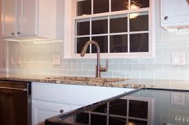subway tile kitchen backsplash combined lighted white wooden wall