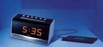 night light alarm clock alarm clock with led night light sencor sdc 4400 varle lt