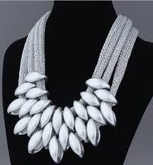 vintage silver choker necklace images Vintage silver gold black choker statement necklace women bijoux jpg