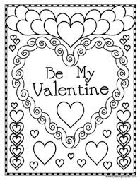 valentines color page valentines day coloring pages free printable at children books online