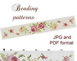 bracelet bead pattern images Loom beaded bracelet tutorials loom bracelet bead loom pattern jpg