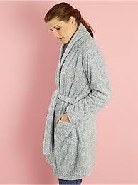 robe de chambre peluche femme robe de chambre femme peignoir d intérieur du s au