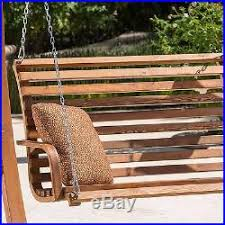 Garden Loveseat Outdoor Porch Swing Bench Loveseat Chair Stand Furniture Garden