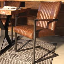 Home Decor Chairs Armchair Rustic Industrial Home Decor Leather Accent Chairs
